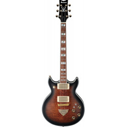 Ibanez AR325QA DBS EG Solid Dark Brown Sunburst