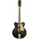 G5422G-12 Electromatic® Hollow Body Double-Cut 12-String with Gold Hardware, Black