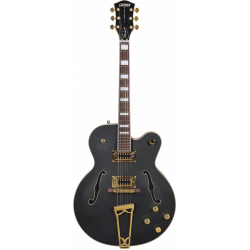 G5191BK Tim Armstrong Signature Electromatic® Hollow Body, Gold Hardware, Flat Black