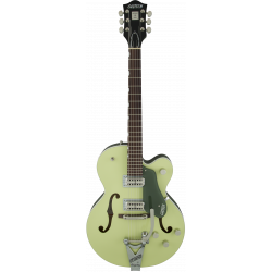 G6118T-SGR Players Edition Anniversary™ with String-Thru Bigsby®, Filter'Tron™ Pickups, 2-Tone Smoke Green
