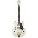 G6609TG Players Edition Broadkaster® Center Block Double-Cut with String-Thru Bigsby® and Gold Hardware, USA Full'Tron™ Pickups,
