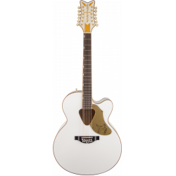 G5022CWFE-12 Rancher™ Falcon Jumbo 12-String Cutaway Electric, Fishman® Pickup System, White
