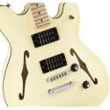 Squier Affinity Series™ Starcaster®, Maple Fingerboard, Olympic White