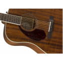 Fender PM-1 Dreadnought LH, Ovangkol Fingerboard, All-Mahogany w/case