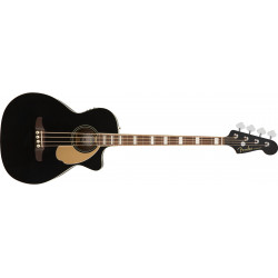 Fender Kingman Bass, Walnut Fingerboard, Black