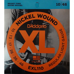 D'Addario XL 110 Regular Light