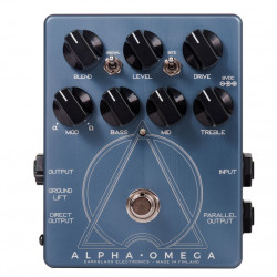 Darkglass Alpha-Omega Pedal Preamp/Distorsion para Bajo