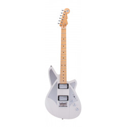 Guitarra eléctrica Reverend Signature Bille Corgan Satin Pearl White
